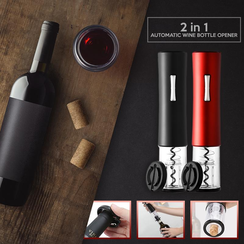 2 in 1 Automatic Wine Bottle Opener