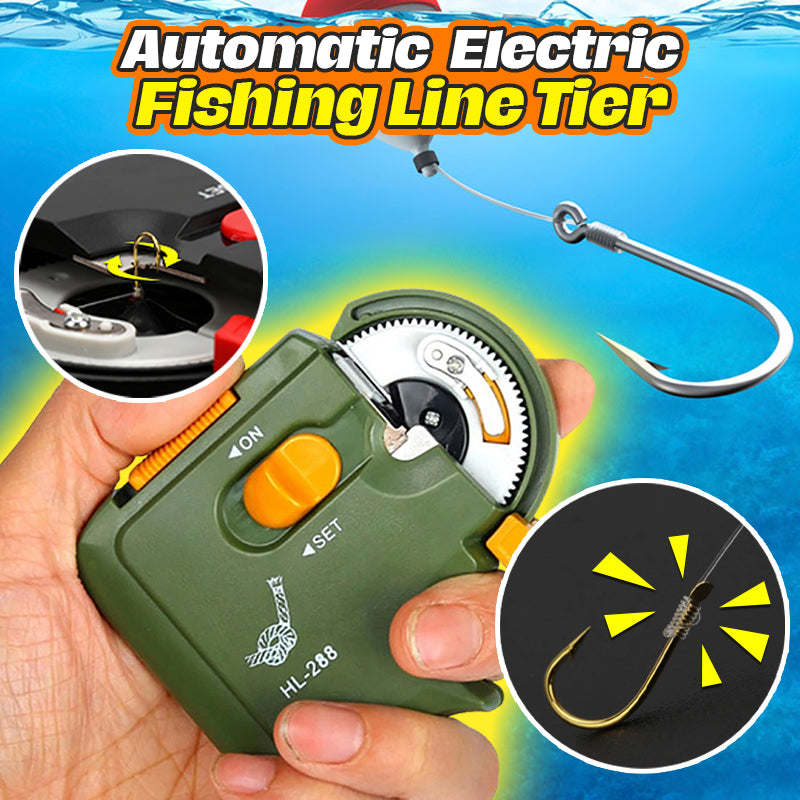 Automatic Electric Fishing Line Tier