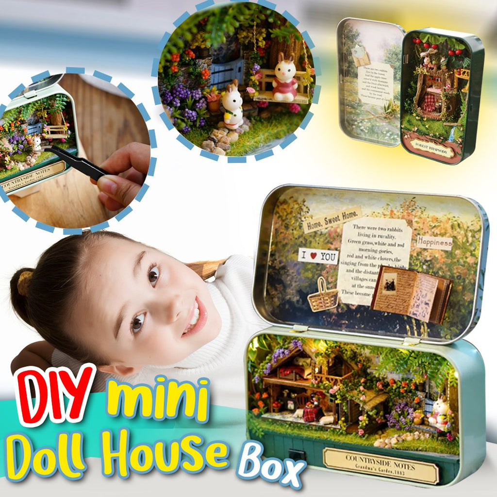 [Last Day 50% OFF Promotion] DIY Mini Theater Doll House Box