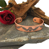 Mens Copper Bangle - Magnetic Wristband for Carpal Tunnel Migraine Relief - Arthritis Band Plus Jewellery - Men's Jewellery