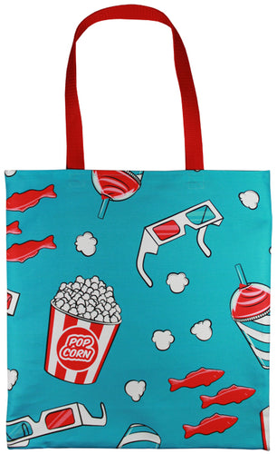 3D Movie Tote Bag