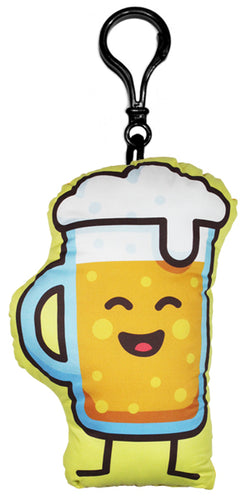 Beer Junk Food Friend Backpack Clip