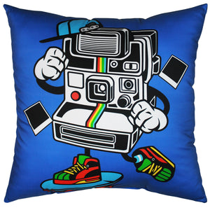 Camera Man Pillow