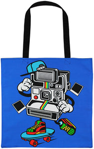 Camera Man Tote Bag