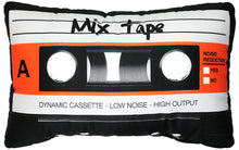 Load image into Gallery viewer, Cassette Tape Pillow