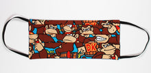 Load image into Gallery viewer, Donkey Kong Face Mask