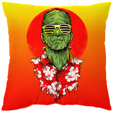 Load image into Gallery viewer, FrankenSummer Pillow