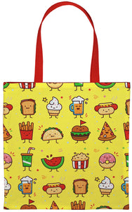 Junk Food Friends Tote Bag