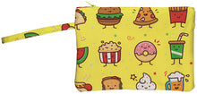 Load image into Gallery viewer, Junk Food Friends Wristlet