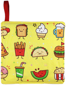 Junk Food Friends Pot Holder