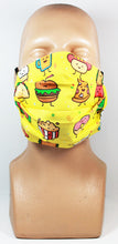 Load image into Gallery viewer, Junk Food Friends Face Mask