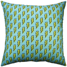 Load image into Gallery viewer, Lightning Bolt Pillow