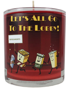 Let's All Go To The Lobby Scented Candle
