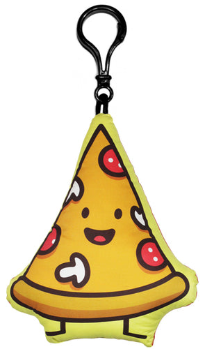 Pizza Junk Food Friend Backpack Clip
