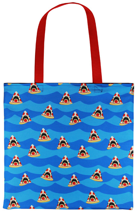 Pizza Shark Tote Bag