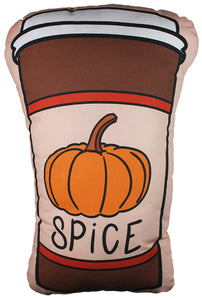 Pumpkin Spice Latte Pillow