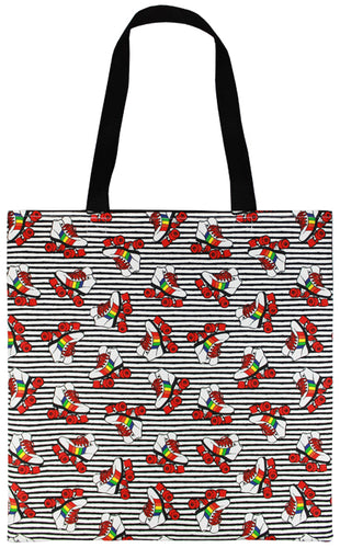 Rainbow Skates Tote Bag