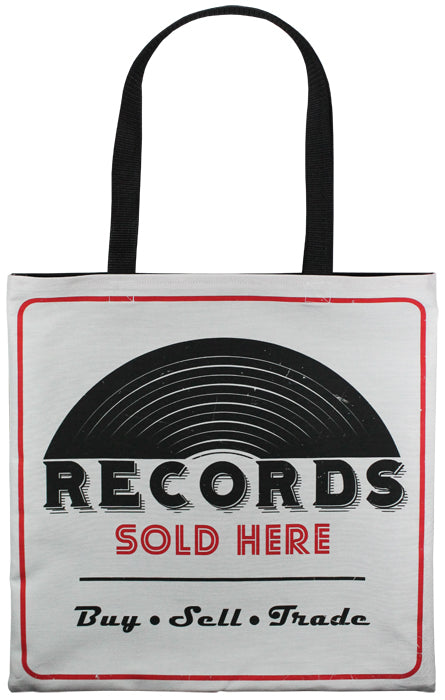 Record Store Tote Bag