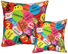 Load image into Gallery viewer, Rental Sticker Pillow