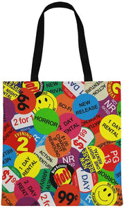 Rental Sticker Tote Bag