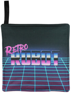 Retro Robot Pot Holder