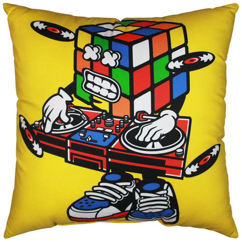 Cube Man Pillow
