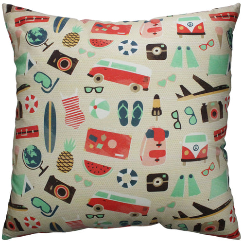 Summer Vacation Pillow