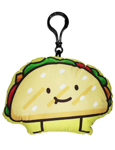 Taco Junk Food Friend Backpack Clip