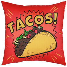 Load image into Gallery viewer, Tacos! Pillow