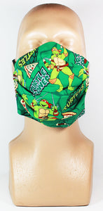 Turtles (Green) Face Mask