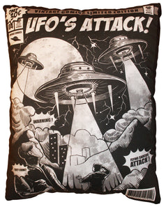 UFO's Attack! Pillow