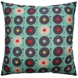 Record Players Pillow
