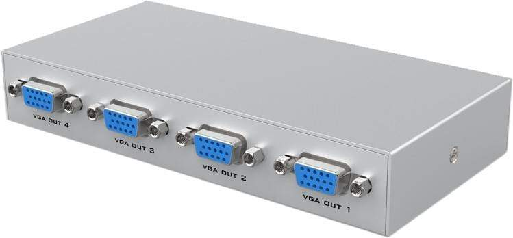 CShop.co.za | Powered by Compuclinic Solutions 4 WAY VGA SPLITTER 150MHZ MT-1504K