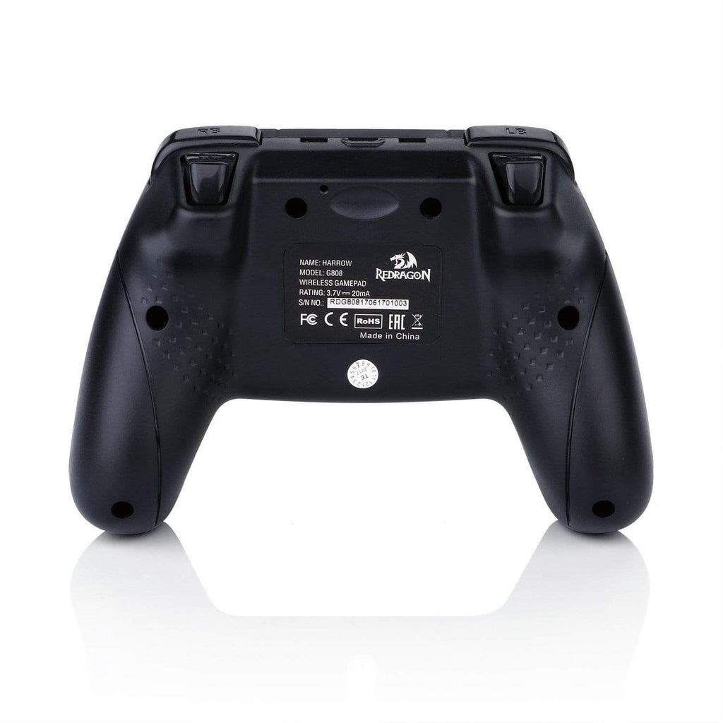 Redragon HARROW Wireless X/D-input(Digital/Analog) PC Controller Black - RD-G808 - CShop.co.za | Powered by Compuclinic Solutions
