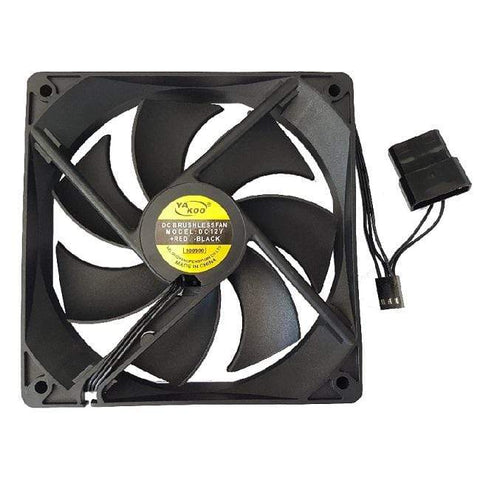 CShop.co.za | Powered by Compuclinic Solutions CHASSIS FAN: 120MM BLACK 12CMFAN