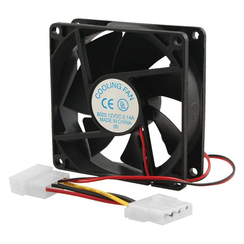 CShop.co.za | Powered by Compuclinic Solutions CHASSIS FAN 80MM BLACK 8CMFAN