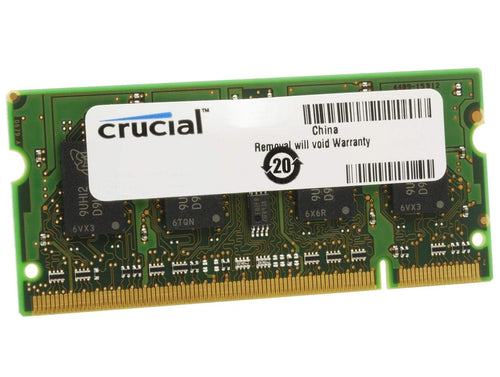 Crucial Crucial 2GB DDR3L 1600MHz SO-DIMM Single Rank - CT25664BF160BJ CT25664BF160BJ