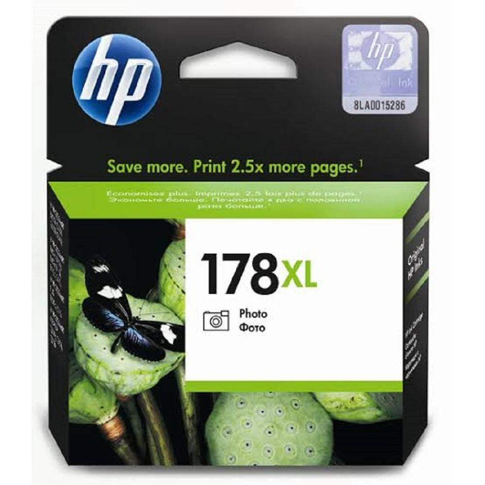 HP Cartridge HP 178xl High Yield Photo Black Original Ink Cartridge - CB322HE CB322HE