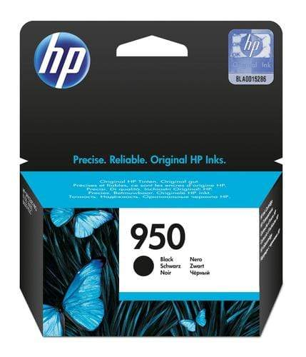 CShop.co.za | Powered by Compuclinic Solutions Hp # 950 Black Officejet Ink Cartridge Office Jet Pro 8100 E Printer Series Office Jet Pro 8600 E Aio Cn049 Ae CN049AE