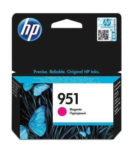 CShop.co.za | Powered by Compuclinic Solutions HP # 951 MAGENTA OFFICEJET INK CARTRIDGE - STANDARD CAPACITY- OfficeJet Pro 8100 ePrinter series OfficeJet Pro 8600 e-AIO - CN051AE CN051AE