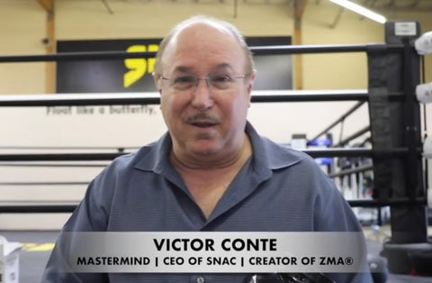 VICTOR CONTE INTRODUCES SNAC PROTEIN DRINKS! POST-WORKOUT & NIGHTTIME PROTEIN!