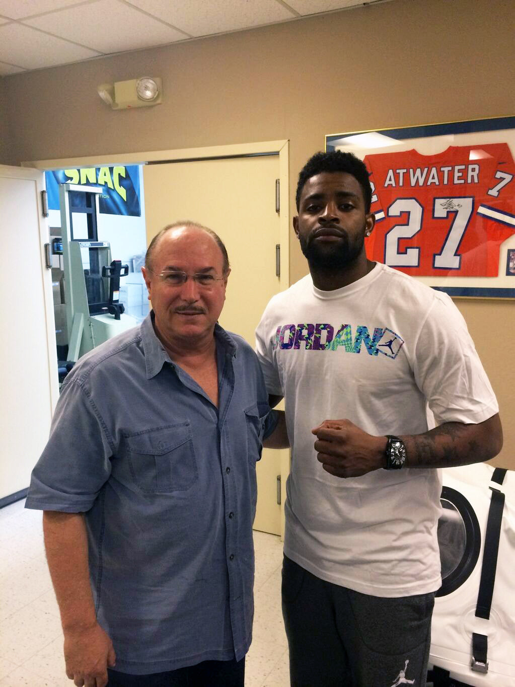Michael Crabtree Victor Conte & Oakland Raiders wide receiver Michael Crabtree