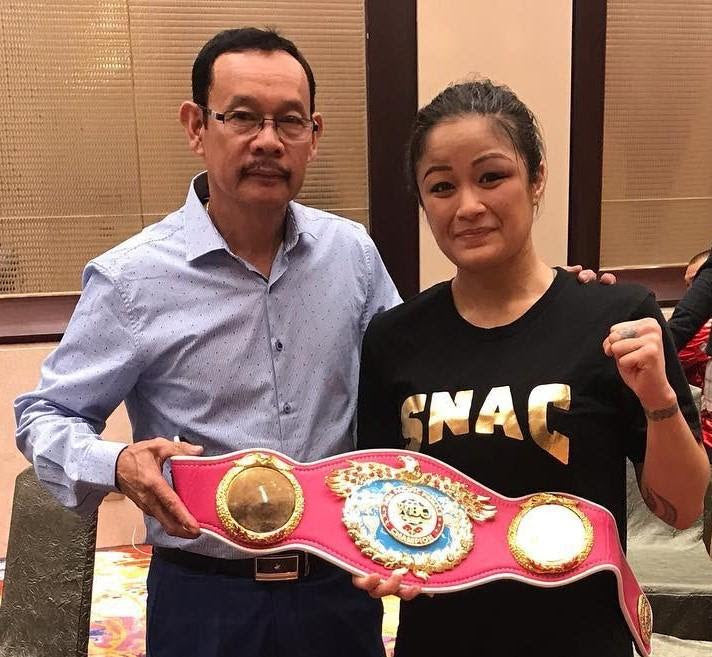 "Casey ""Lady Hawaiian Punch"" Morton Retains her WBO Asia Pacific Title"