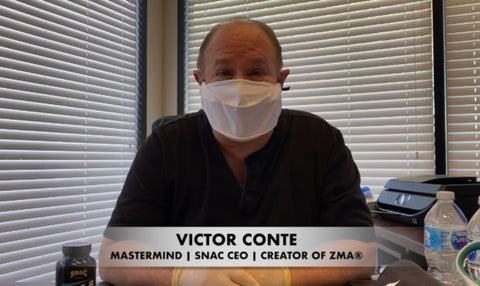 Victor Conte's Corner: SNAC Immune System Support