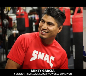 Mikey Garcia, 4 Division Professional Boxing World Champion