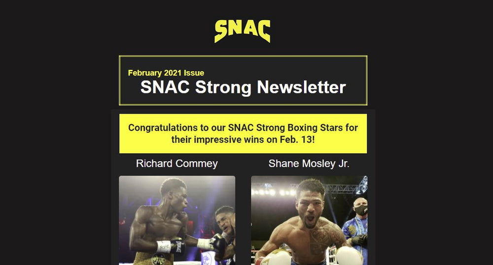 SNAC Strong Newsletter - February 2021 Issue