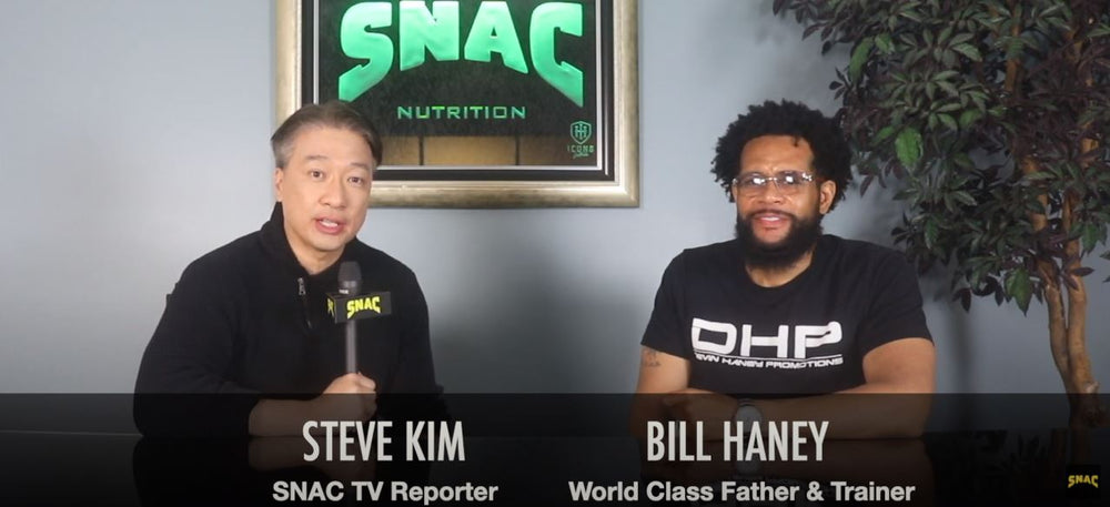 Bill Haney Father & Trainer of Devin Haney Interview with SNAC TV Reporter Steve Kim - Haney vs Linares
