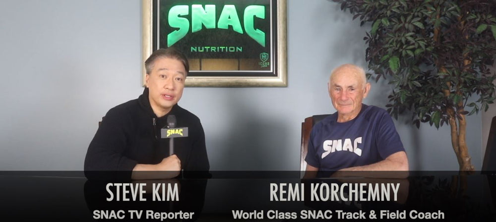 Remi Korchemny World Class SNAC Track & Field Coach Interview with SNAC TV Reporter Steve Kim
