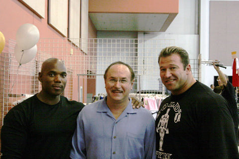 Flex Wheeler, Victor Conte and Gunter Schlierkamp