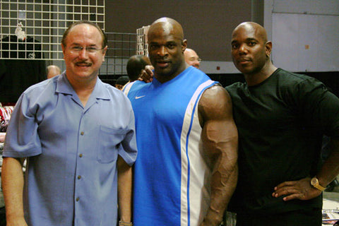 Victor Conte, Ronnie Coleman and Flex Wheeler.